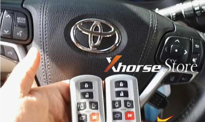 vvdi key tool max add key for Toyota