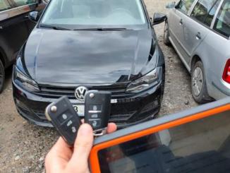 Key Tool Plus Adds Key on 2019 VW Polo MQB49/5C