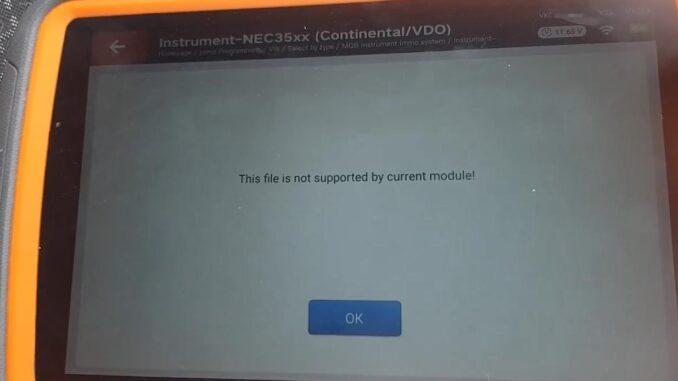 VW MQB AKL Programming Fail by Xhorse VVDI Key Tool Plus
