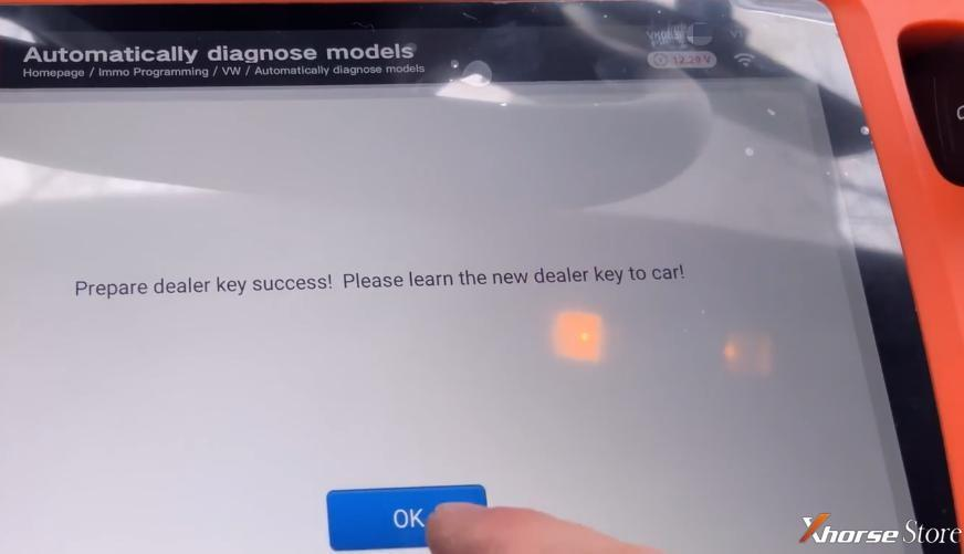 VW Tiguan add new key -VVDI Key Tool Plus