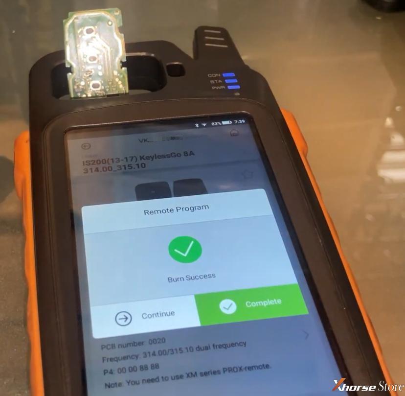 Xhorse universal Toyota Smart Key Generation for Toyota/Lexus