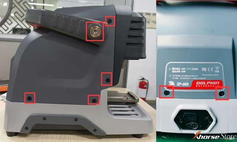 Check Xhorse Dolphin XP005 Probe & Cutter Conductivity