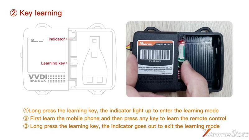 Xhorse Smart Key Box User Guide