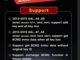 Xhorse BCM2 Solder-Free Adapter for Audi