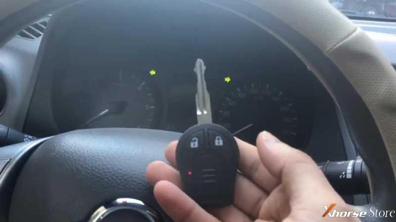Xhorse VVDI Key Tool Plus adds key ID46: Nissan Navara 2017