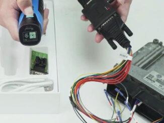 Xhorse VVDI Mini Prog + BOSH ECU adapter read VW ECU