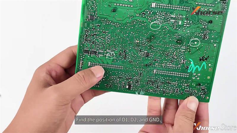 Audi BCM2 Solder-free Adapter Works with VVDI2 + VVDI Prog