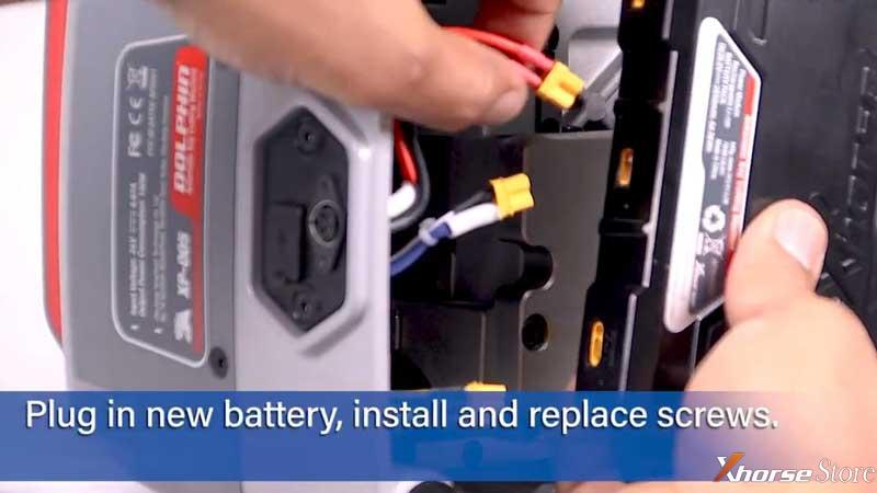 Replace Xhorse Dolphin XP-005/ XP-007 Battery