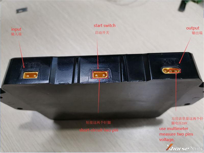 Test Xhorse Dolphin XP-005 Battery Storage