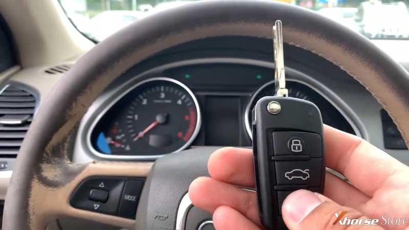 Xhorse VVDI Key Tool Plus Adds Audi Q7 2008 Key via OBD