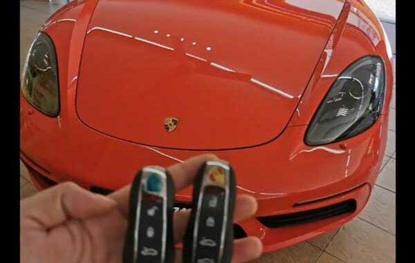 Xhorse Key Tool Plus Adds Porsche 718 Boxster Key